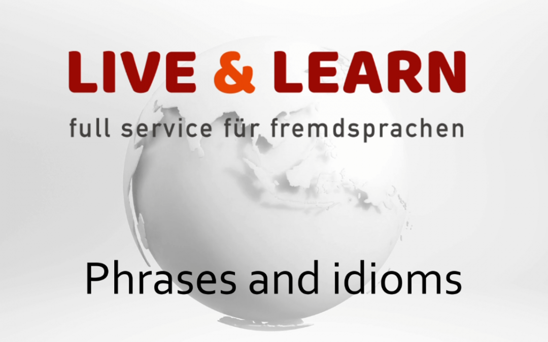 Phrases and idioms – I heard it through the grapevine.