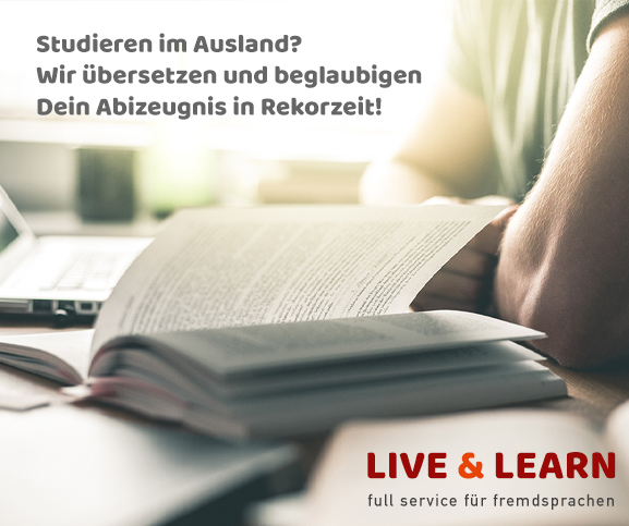 Live & Learn - Übersetzungen von Zeugnissen in Krefeld
